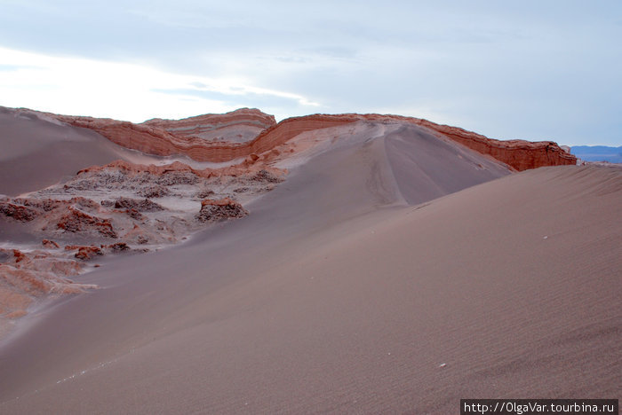 Лунные дюны Сан-Педро-де-Атакама, Чили