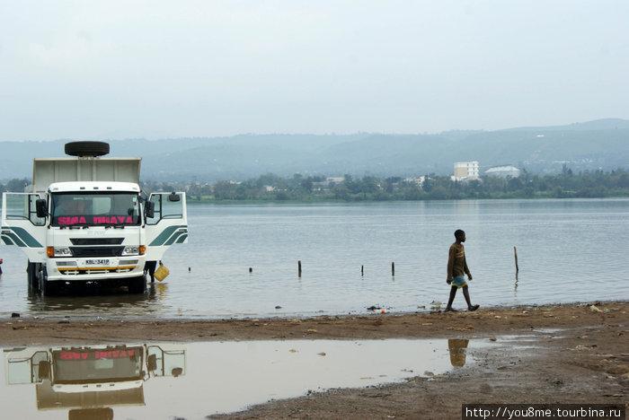 озеро Виктория с кенийской стороны