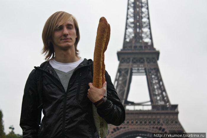 Настоящий француз, да? :)