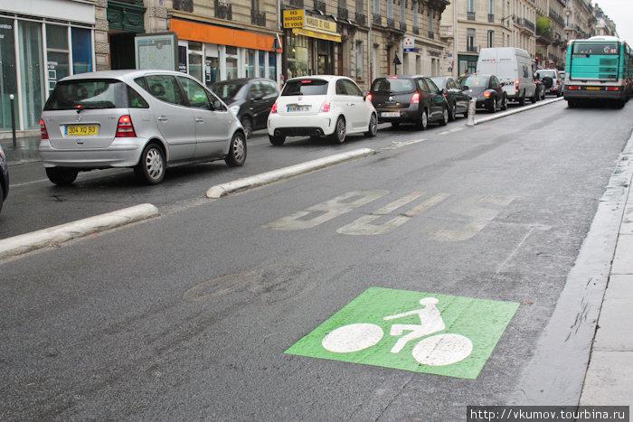Что общего между велосипедом и автобусом? Дорожка!