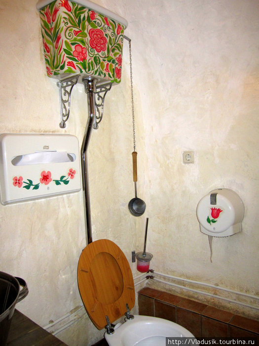 Туалет понравился :)