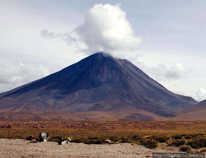 Вулкан Ликанкабур — «наро