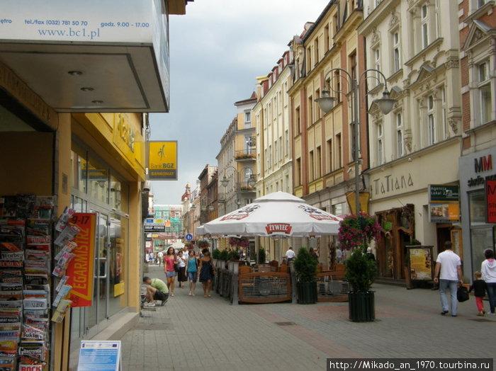 Бульвар в Катовице