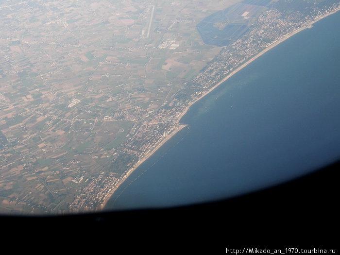 Пролетая над Адриатикой