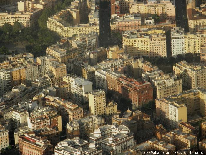 Кварталы Рима