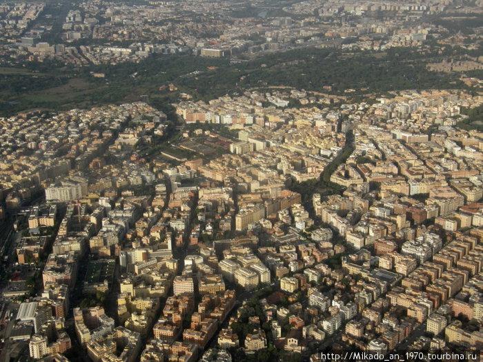 Южные пригороды Рима