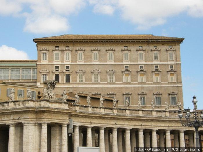 Ватиканские административные здания, папский кабинет