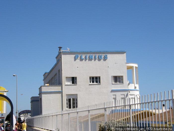 Лидо Остия, пляж плиниус