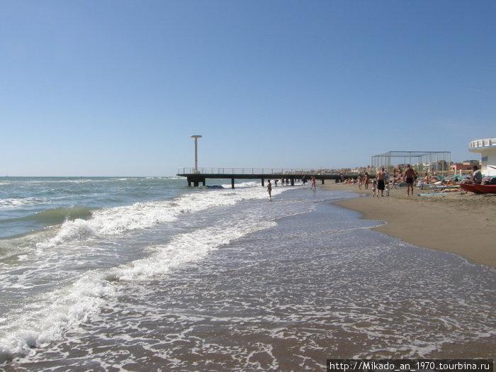 Пляж на Тиренском море