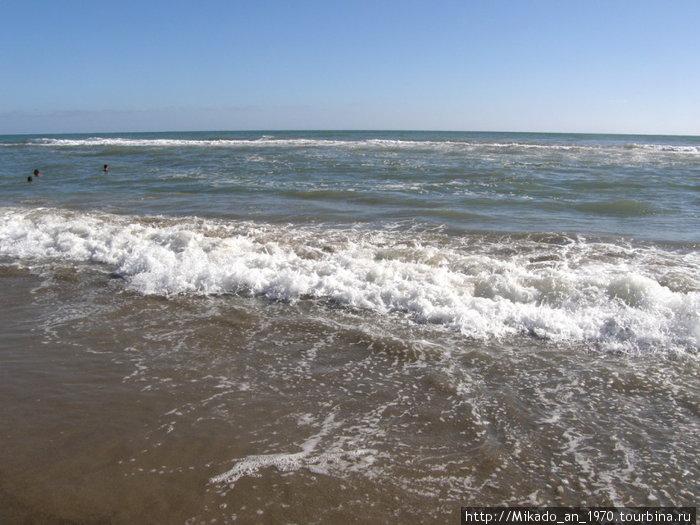 Волны Тиренского моря