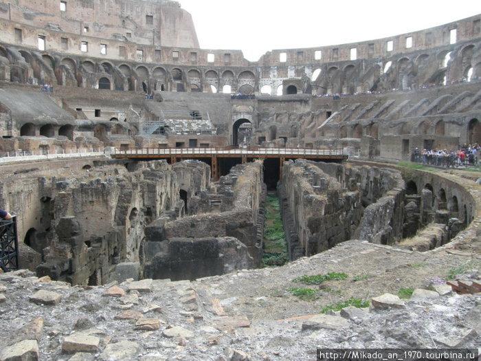 Колизей, арена, то что от нее осталось