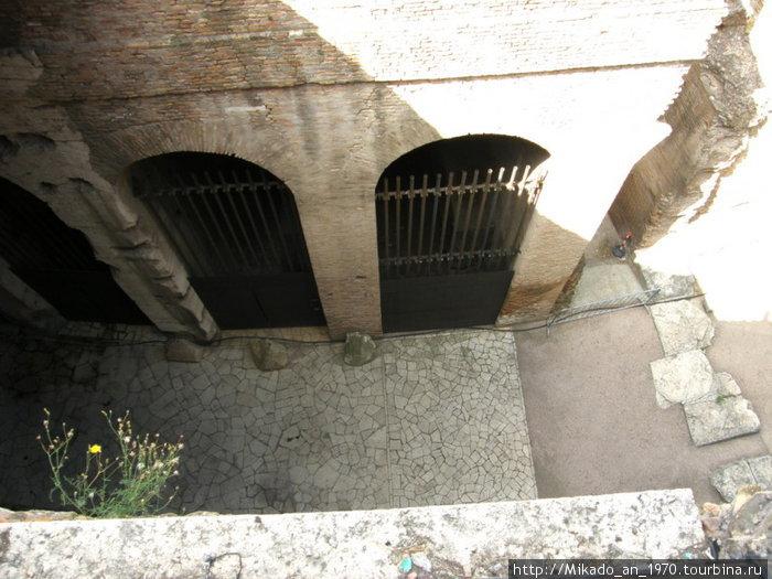 Коридоры в Колизее