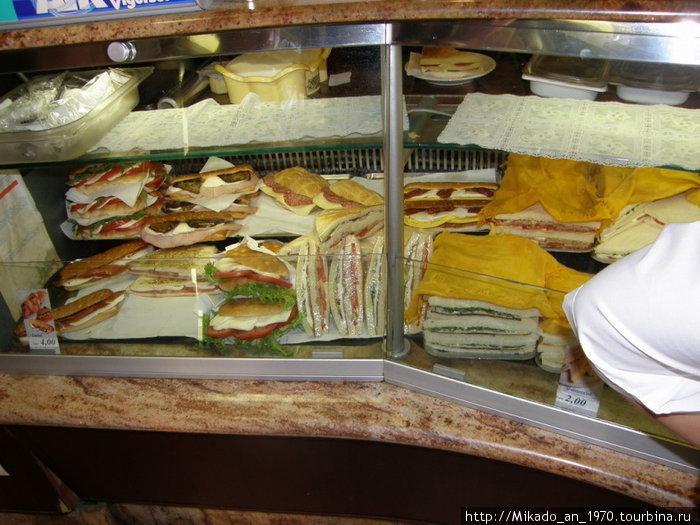 Мегабутерброды-панини