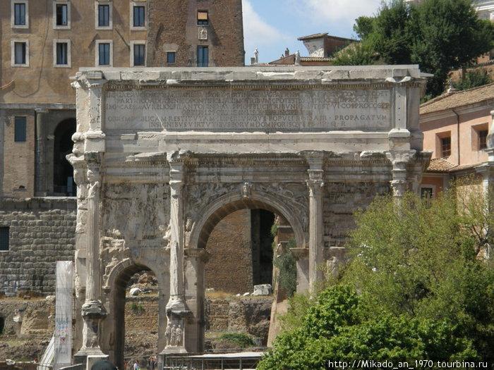 Очередная триумфальная арка