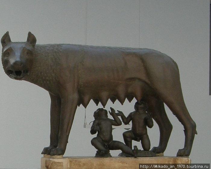 Римская волчица — оригинал