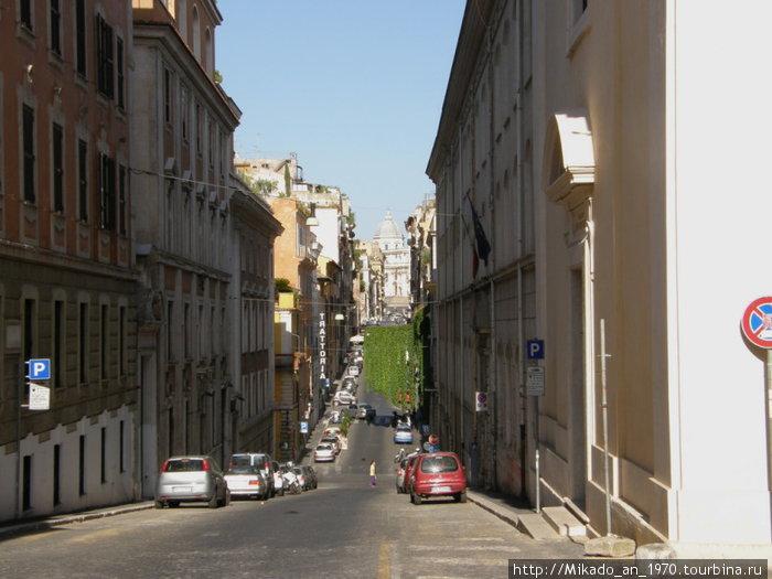 Улочка в Риме — по дороге к Санта Мария Маджоре