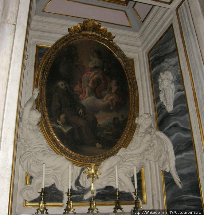 Портрет в церкви Санта Мария Маджоре