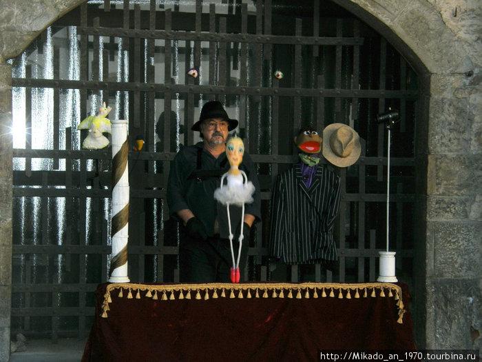 Кукловод в Бергамо