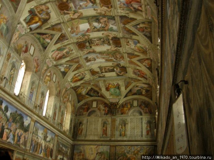 Сикстинская капелла, потолок