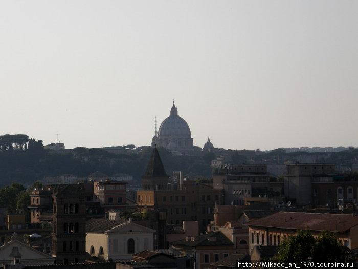 Вид на Ватикан