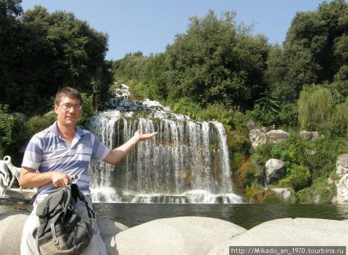 Я, и верхний водопад