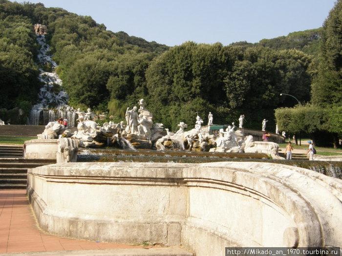 Основной питающий источник всех фонтанов-бассейнов-водопадов