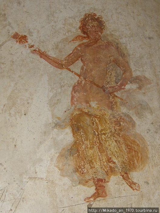 Женская фреска