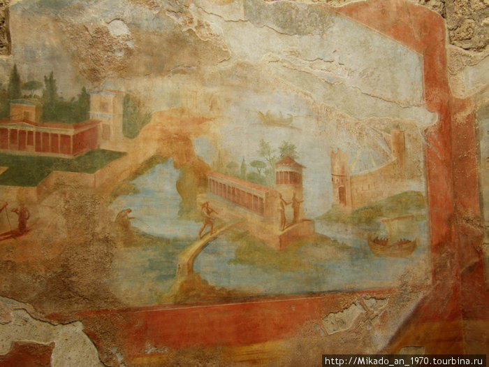 Картинная фреска