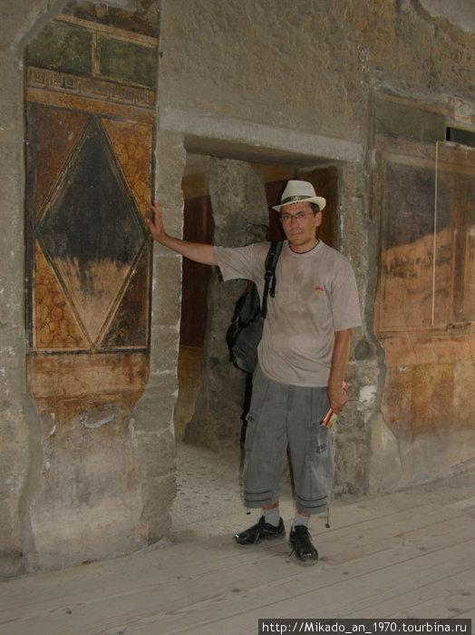 Фрески на Вилле Помпеи