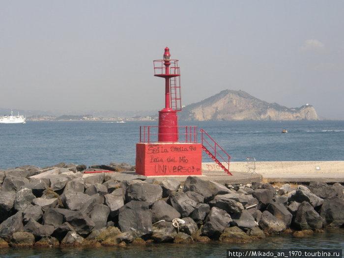 Красный маяк на Прочиде