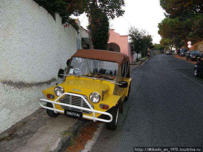 Желтый лимузин
