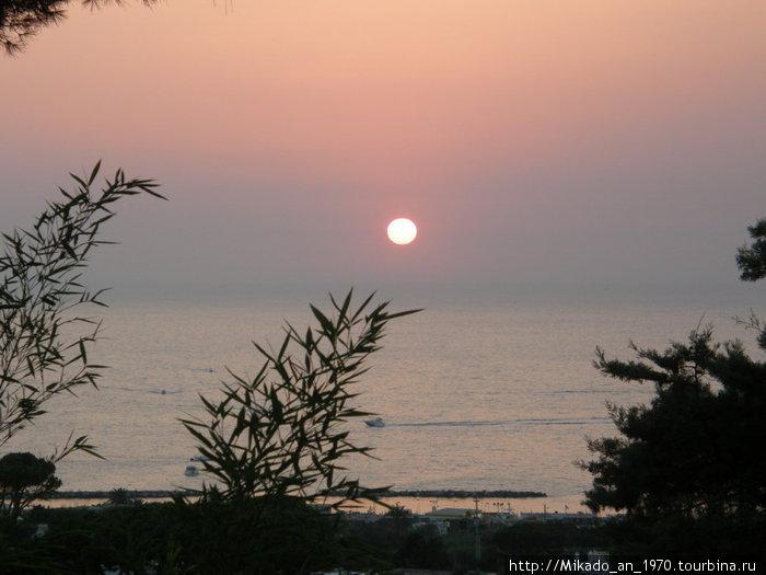 Закат над Форио