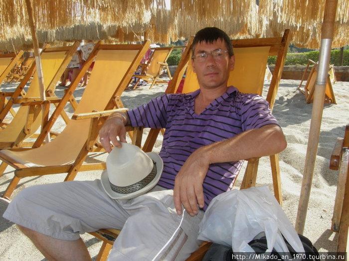 Я на пляже Читара
