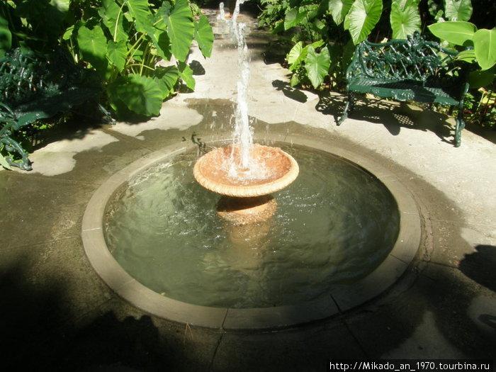 Конусный фонтан