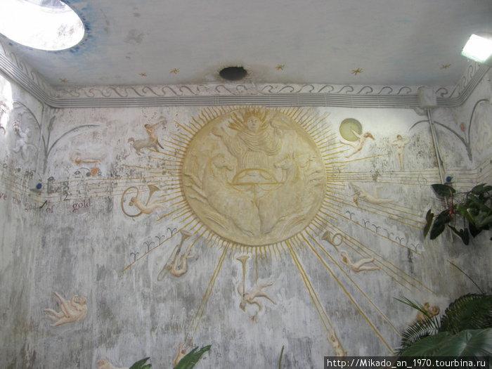 В храме Солнца