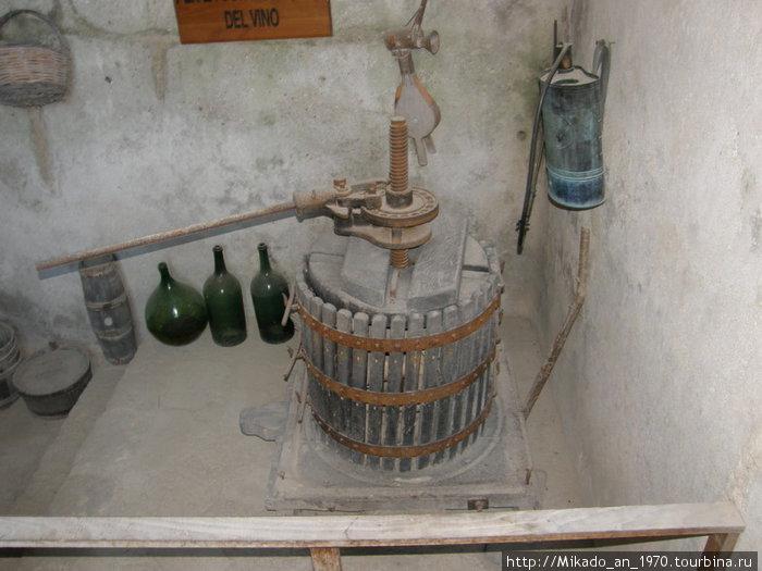 Винодельня — давильный аппарат