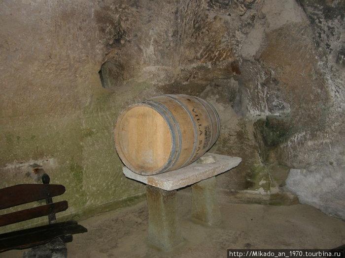 Винная пещера — но без вина