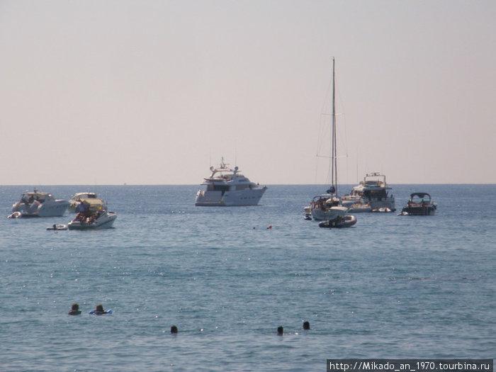 Яхты собираются