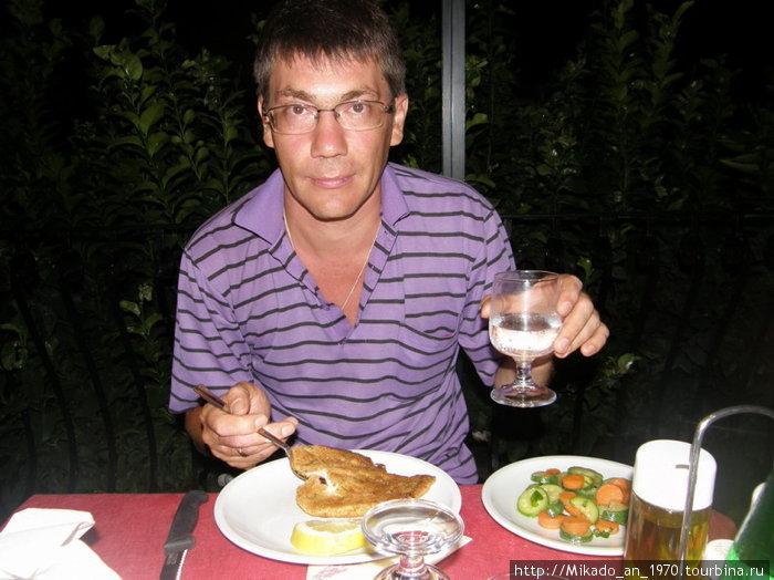 Ужин на Вилла ле Магнолия