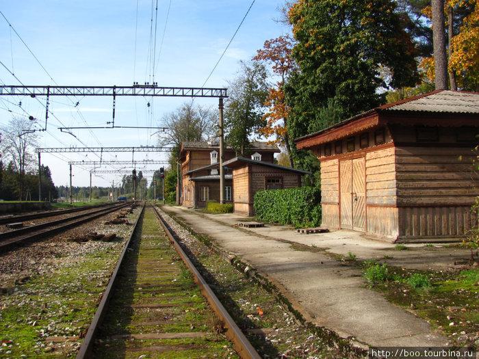 старая платформа