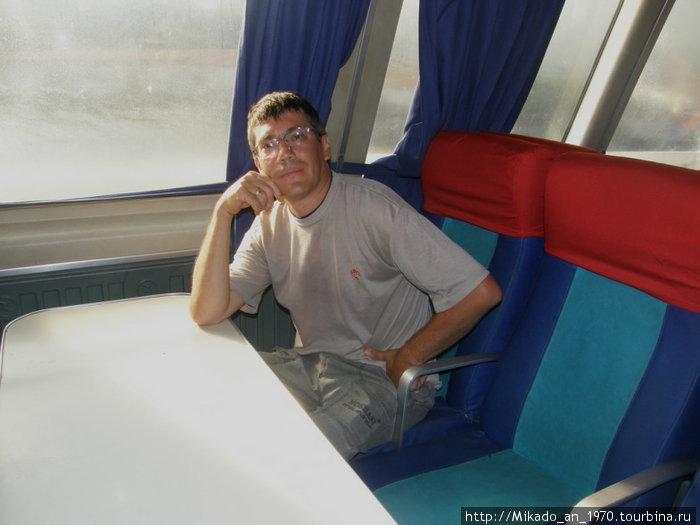 Я на борту быстроходного катера