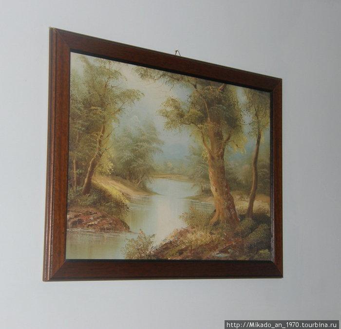Картина ШИШКИНА в Неаполе