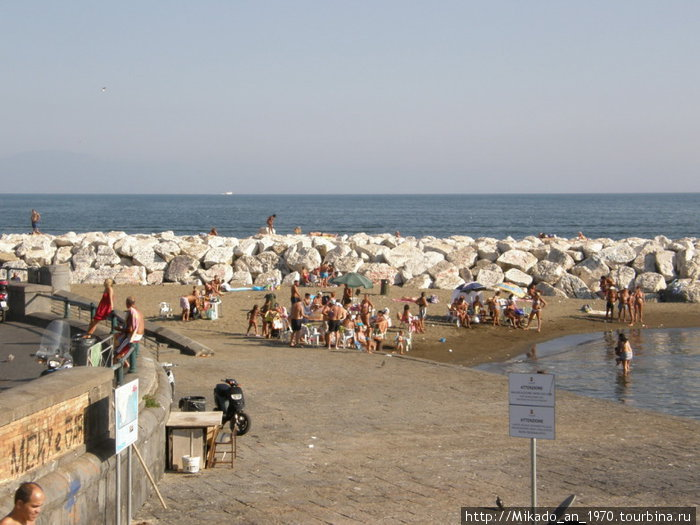 Пляж в Неаполе