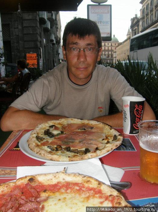 Неаполитанская пицца — это НЕЧТО !!!
