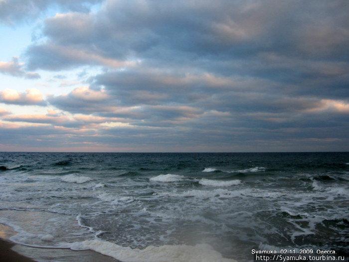 Море... Бездонное, необъятное, завораживающее...