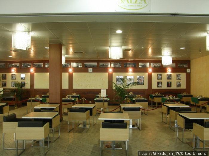 Кафе в Неапольсклм аэропорту