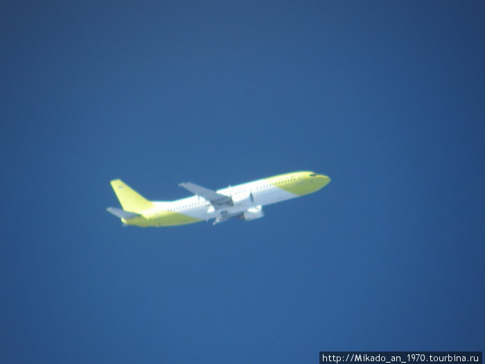 Близколетящий самолет