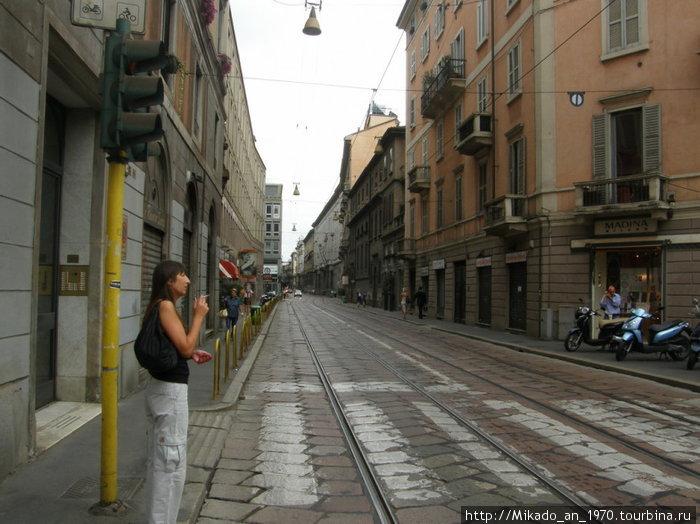 Улица в Милане