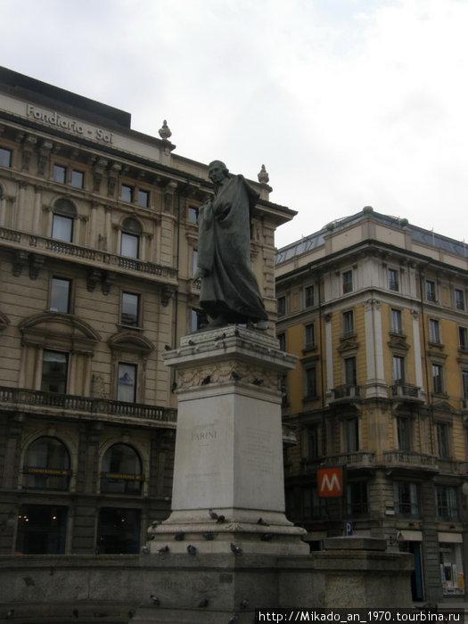 Еще один памятник в Милане