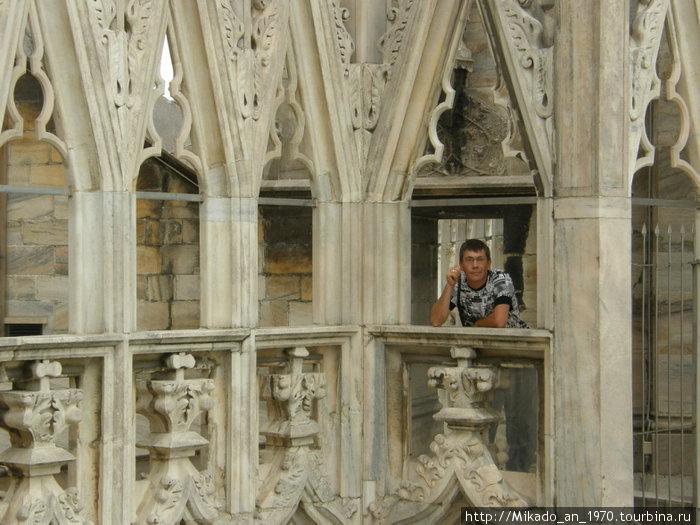 На балкончике на крыше